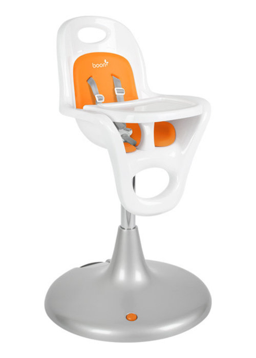 Boon Boon Flair Standard  Pedestal High Chair with Pneumatic Lift In Orange