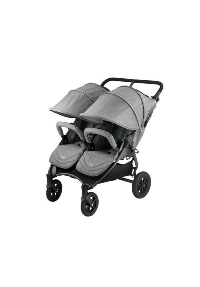 Valco Baby Neo Twin Duo In Tailormade Grey Marle