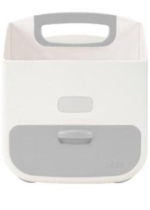 Ubbi World Ubbi Diaper Caddy In Gray-White