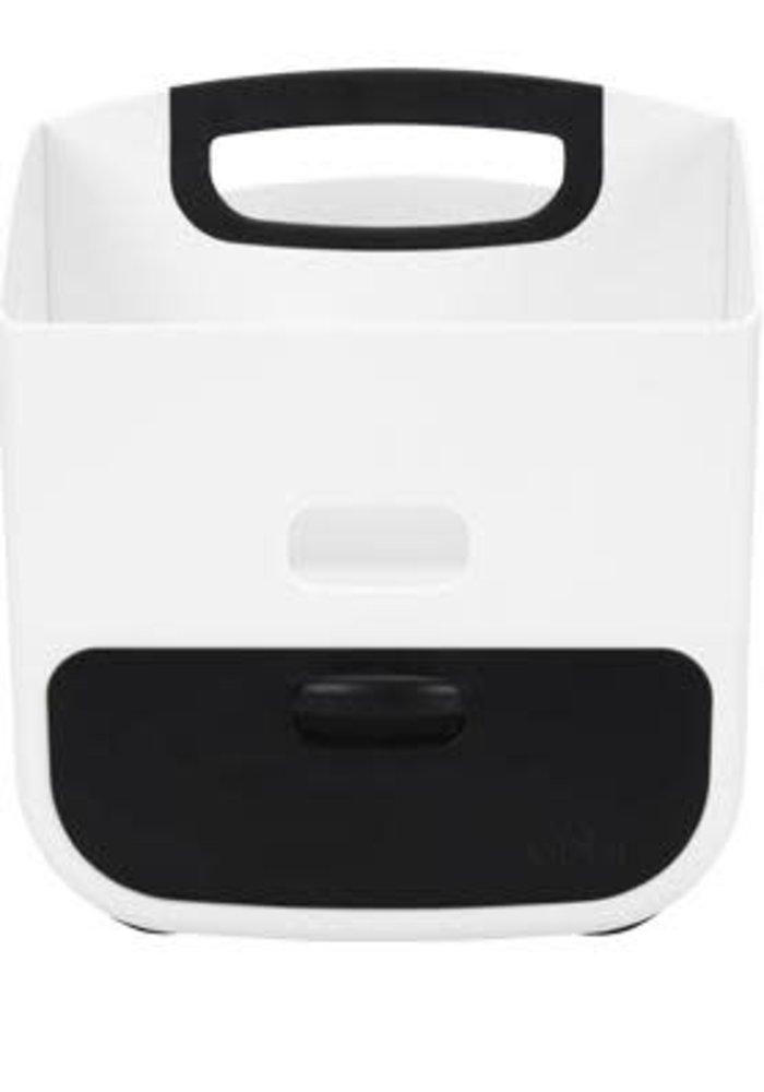 Ubbi Diaper Caddy In Black-White