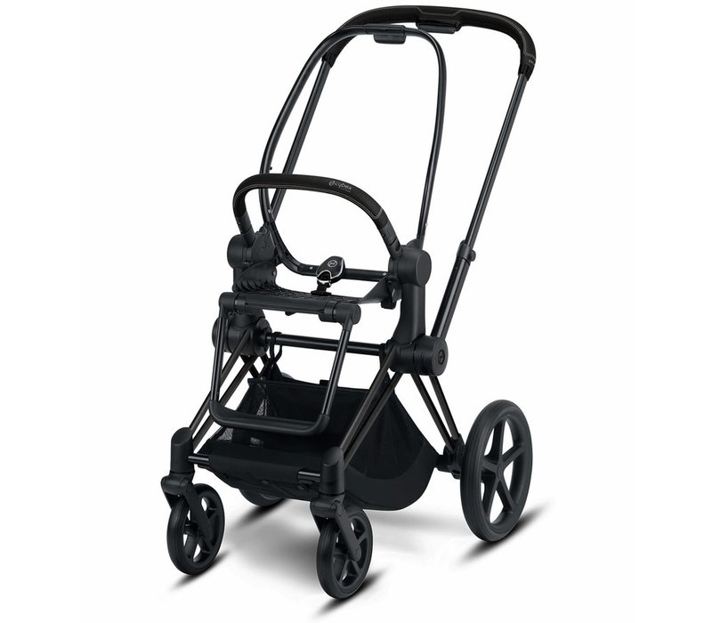 2020 Cybex ePRIAM Frame Included Seat Hardpart In Matte Black