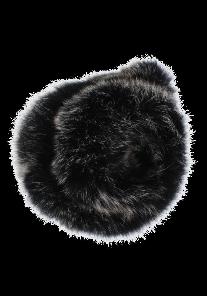 Baby Frr Fur For Stroller In Black And White