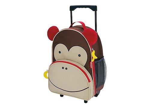 Skip Hop Skip Hop Rolling Luggage in Monkey