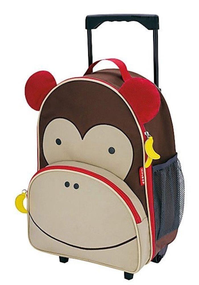 Skip Hop Rolling Luggage in Monkey