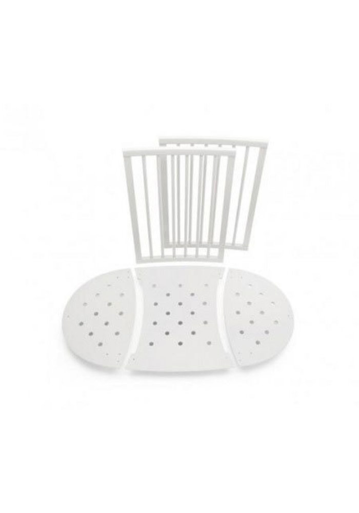 Stokke Sleepi Bed Extensions To Convert The Mini Crib To A Crib In White