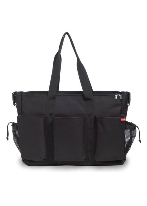 Skip Hop Skip Hop Duo Double Side By Side Diaper Bag In Black