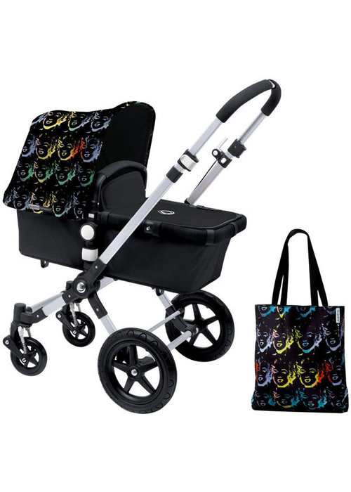 Bugaboo CLOSEOUT!! Bugaboo Cameleon3 Andy Warhol Accessory Pack In Marilyn-Black