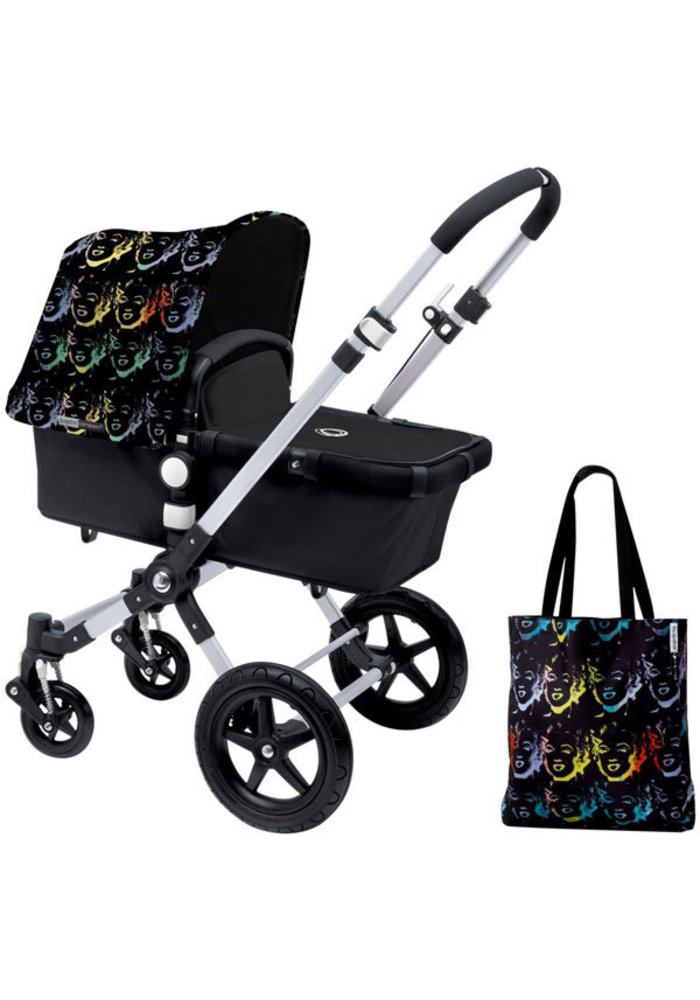 CLOSEOUT!! Bugaboo Cameleon3 Andy Warhol Accessory Pack In Marilyn-Black