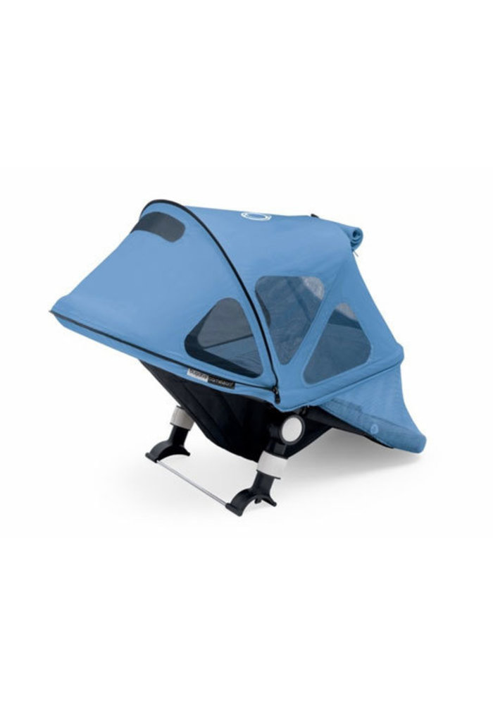 CLOSEOUT!! Bugaboo Cameleon3 Breezy Sun Canopy In Ice Blue