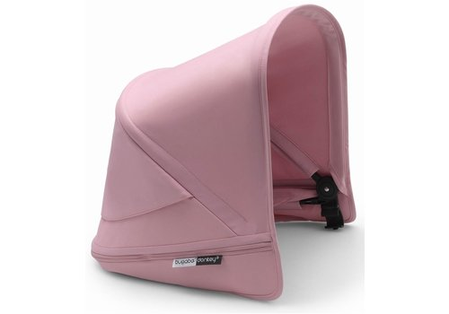 Bugaboo Bugaboo Donkey3 Extendable Sun Canopy With Peek A Boo In Soft Pink (BOX 3)