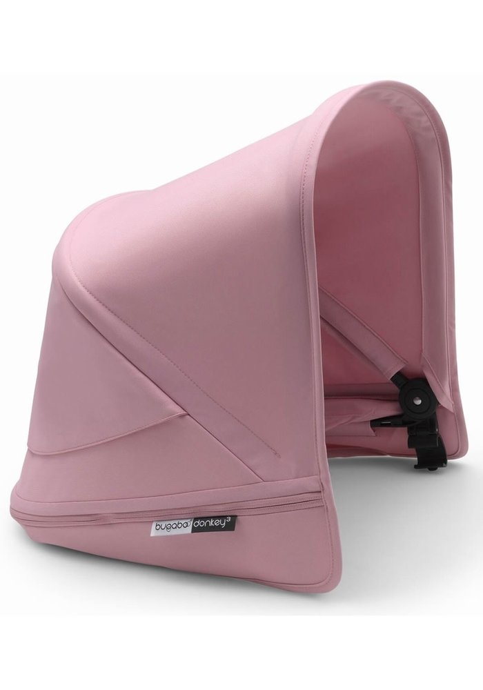Bugaboo Donkey3 Extendable Sun Canopy With Peek A Boo In Soft Pink (BOX 3)