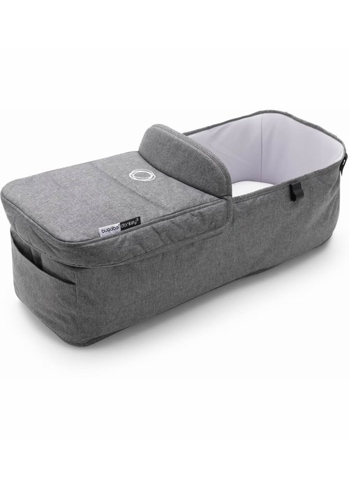 Bugaboo Bugaboo Donkey3 Bassinet Fabric Complete In Grey Melange (BOX 6)
