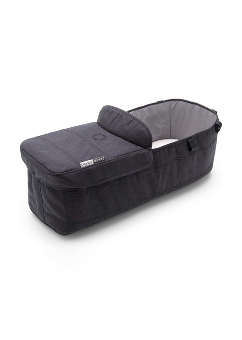Bugaboo Bugaboo Donkey3 Mineral Bassinet Fabric Complete In Washed Black
