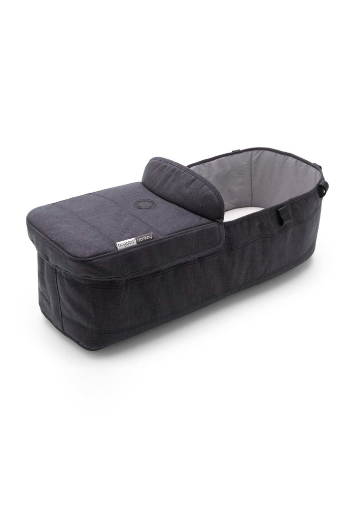 Bugaboo Donkey3 Mineral Bassinet Fabric Complete In Washed Black
