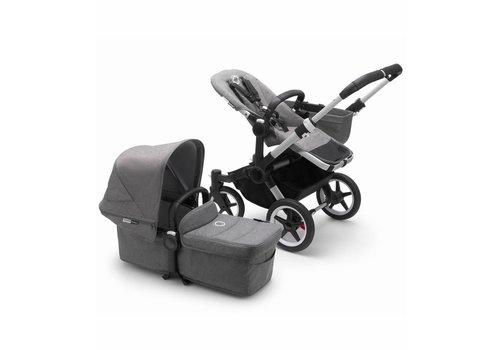 Bugaboo Bugaboo Donkey3 Mono Complete Stroller - Aluminum/Grey Melange/Grey Melange