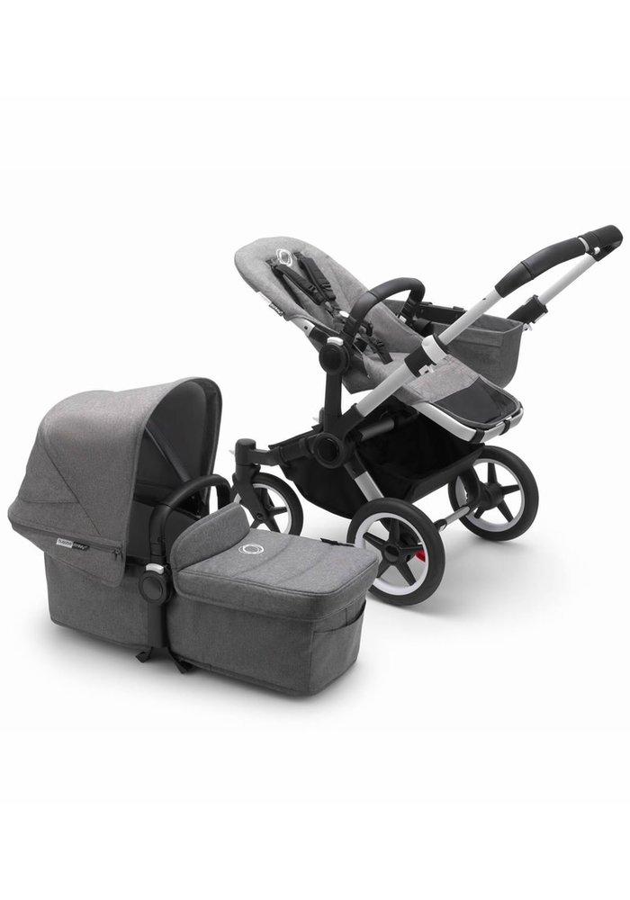 Bugaboo Donkey3 Mono Complete Stroller - Aluminum/Grey Melange/Grey Melange