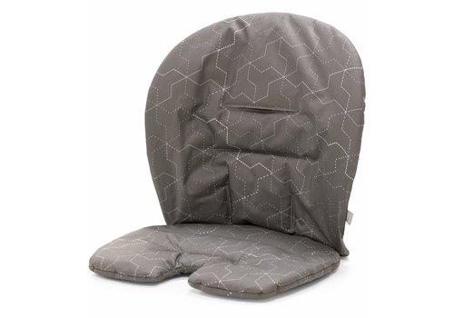 Stokke Stokke Steps Cushion In Geometric Grey