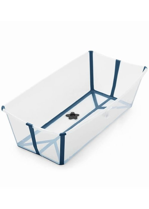 Stokke Stokke Flexi Bath X- Large In Transparent Blue
