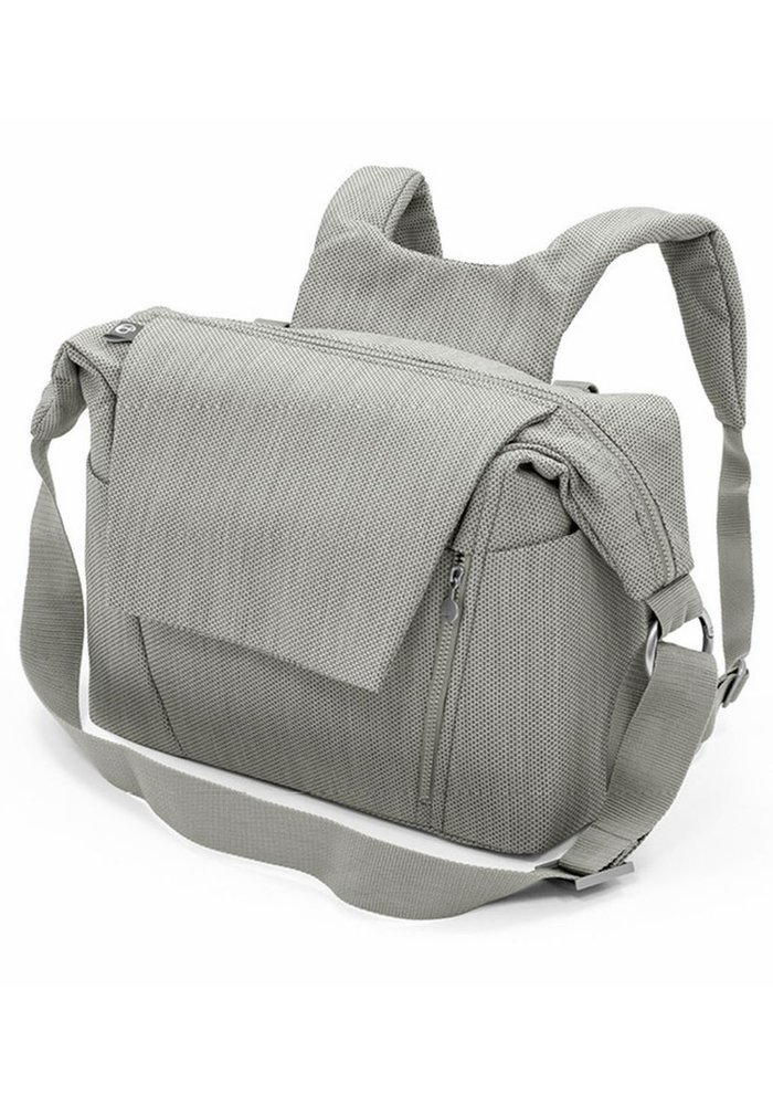 Stokke Universal Changing Bag In Brushed Grey