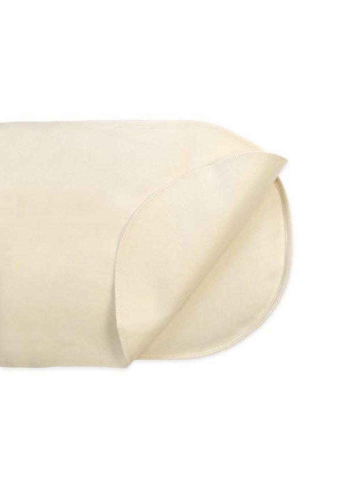 CLOSEOUT!! Naturepedic Non Waterproof Organic Cotton Flannel Pad - Crib Flat