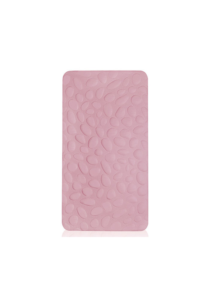 Nook Sleep Pebble Pure Crib Mattress In Blush (Coconut And Latex) 2 Stage