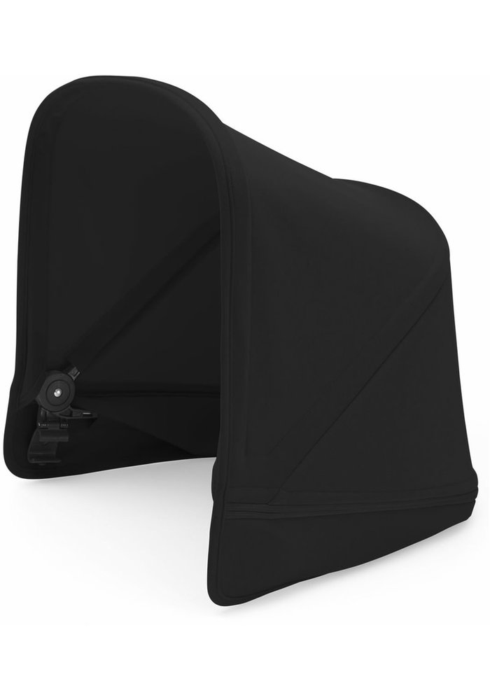 CLOSEOUT!! Bugaboo Donkey2 Extendable Sun Canopy In Black (BOX 3)
