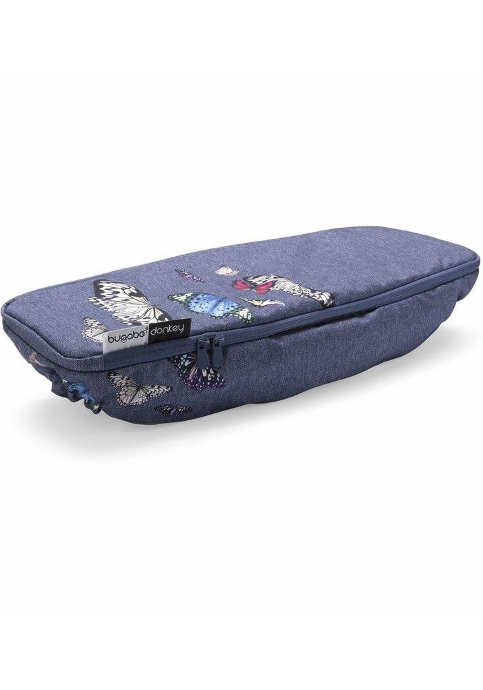 CLOSEOUT!! Bugaboo Donkey2 Side Luggage Basket Cover In Botanic