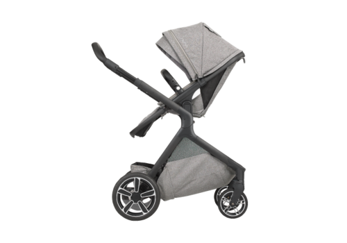 Nuna Nuna Demi Grow Stroller In Frost With Ring Adapter , Rain Cover, Fenders