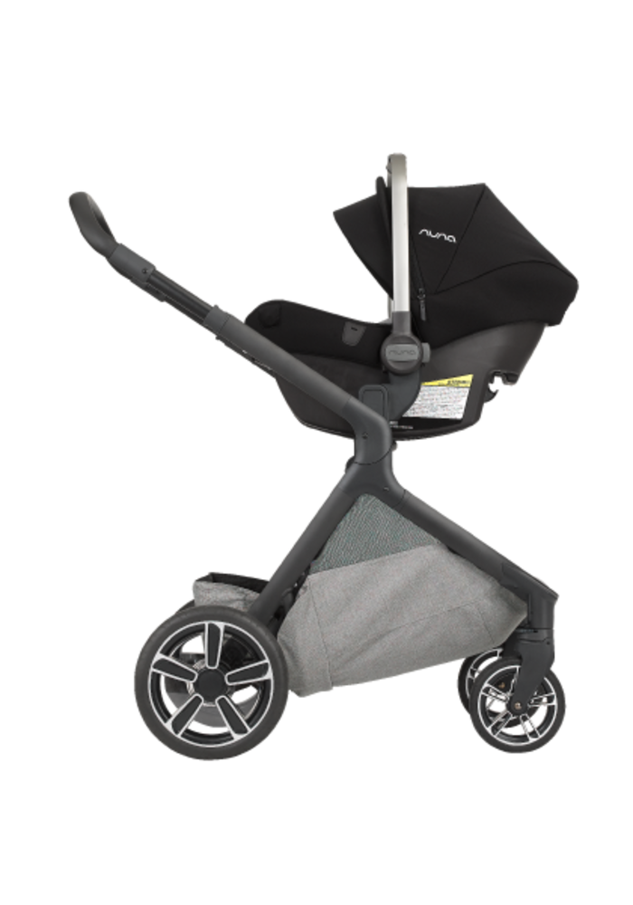 Nuna Demi Grow Stroller In Frost With Ring Adapter , Rain Cover, Fenders