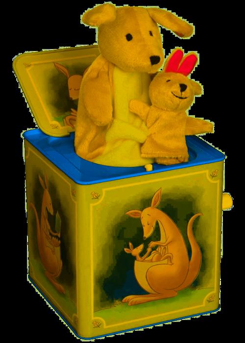 Schylling Schylling Kangaroo Jack in the Box