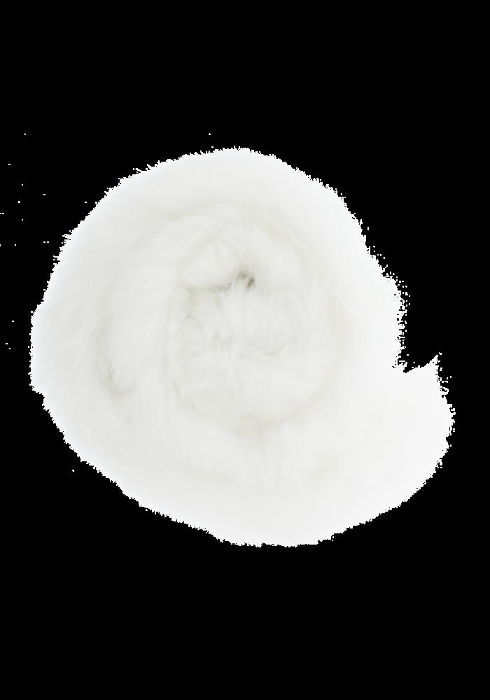 Baby Frr Fur For Doona In White