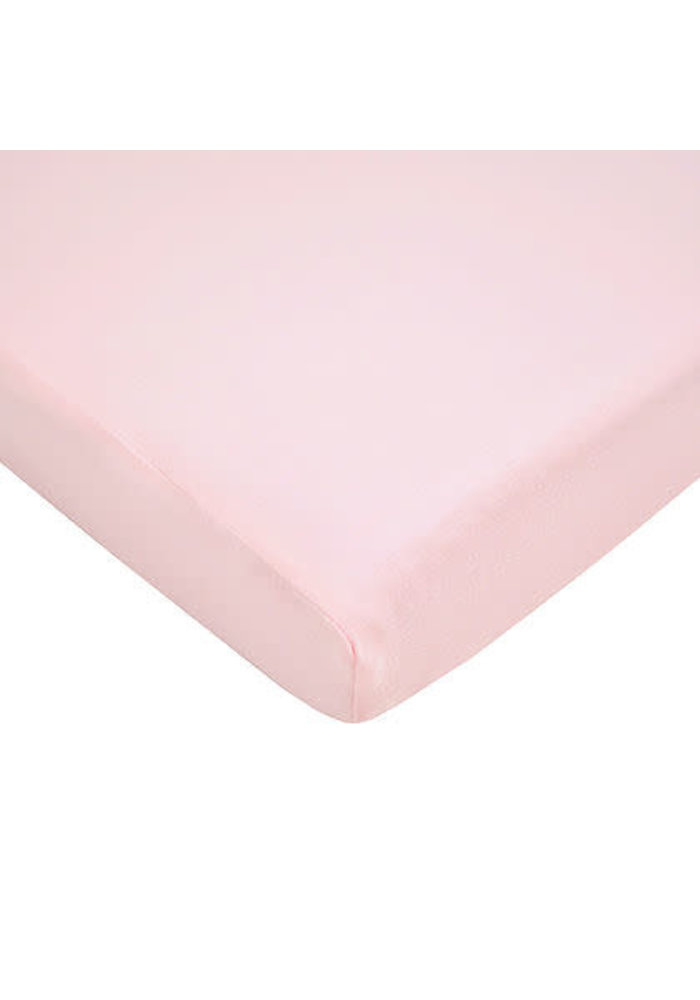 American Baby Knit Cradle Sheet In Pink