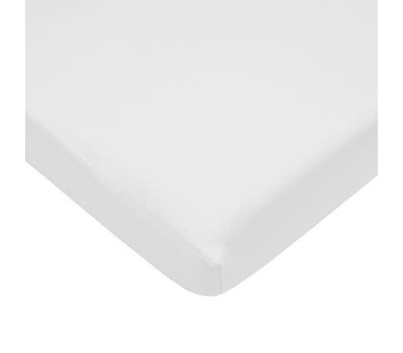 American Baby Knit Cradle Sheet In White