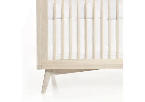 Oilo Oilo Crib Skirt In White