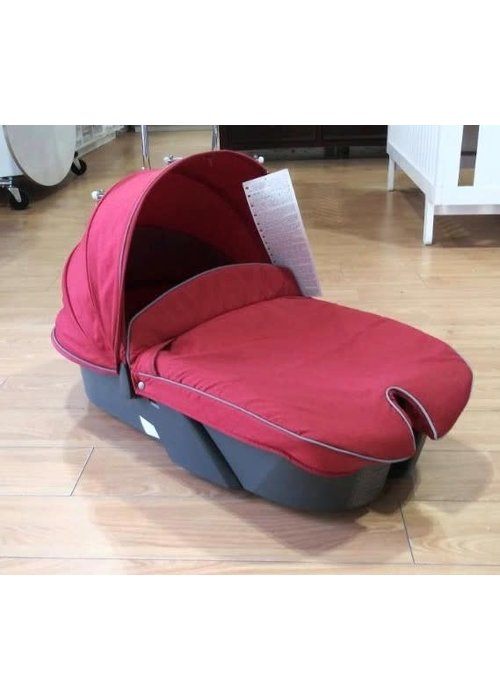 Stokke CLOSEOUT!! 2010 Stokke Xplory Carrycot With Textile Set In Red