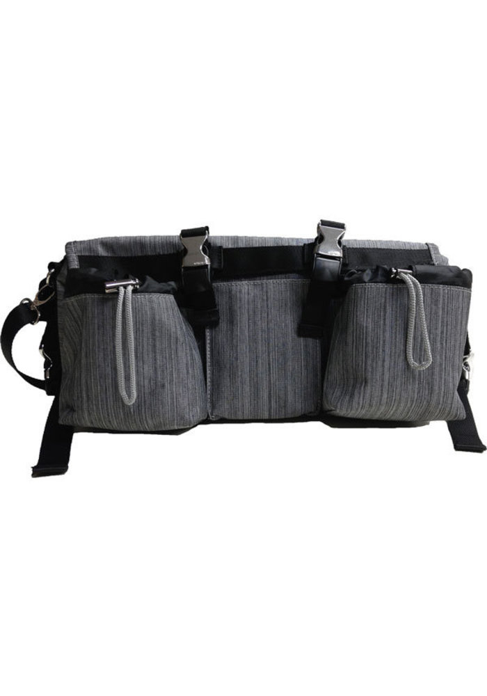 Buggy Gear Buggy Buddy Oxford Organizer and Cooler In Snow Oxford