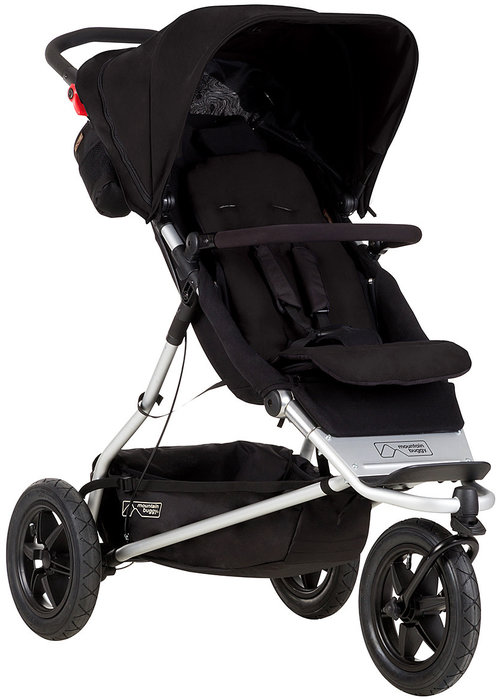 Mountain Buggy Mountain Buggy Plus One In Black