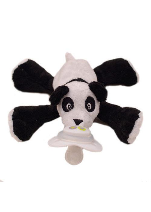 Nookums Nookums Paisley Panda Buddies Pacifier Holder