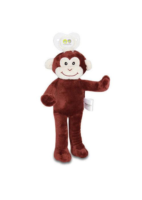 Nookums Nookums Milo Monkey Lovies Pacifier Holder