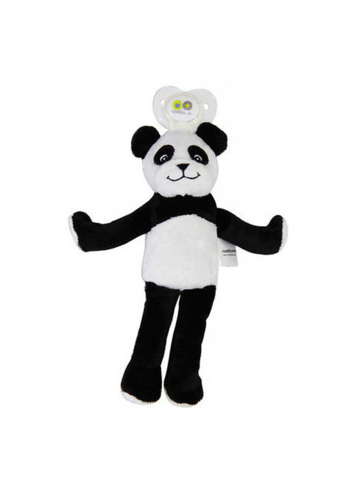 Nookums Nookums Paisley Panda Lovies Pacifier Holder