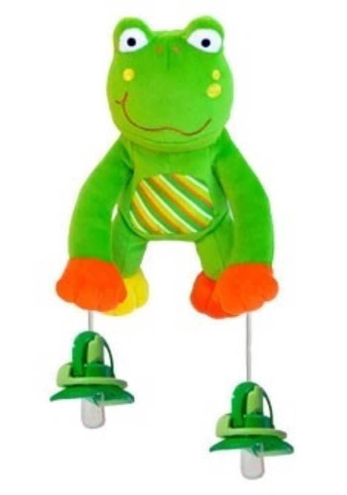 Pully Palz Puddles Frog