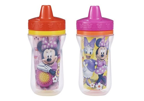 The First Years The First Year's Minnie Insulated 9 Oz Sippy Cups 2 PK