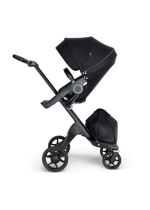 Stokke Stokke Xplory Black Chassis -Stroller Seat Black and Black Handle