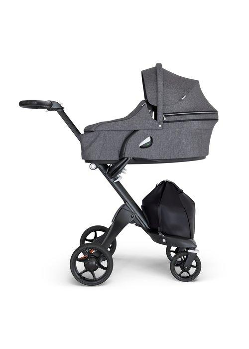 Stokke Stokke Xplory Carrycot Black Melange (Stroller Frame Not Included)