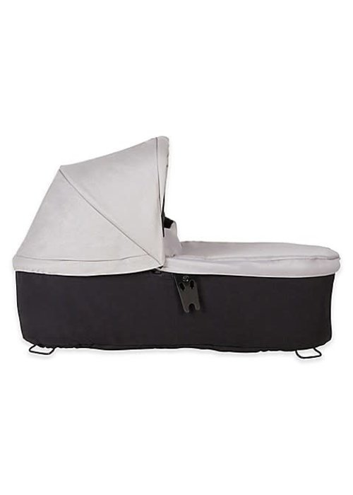 Mountain Buggy Mountain Buggy Duet Plus Carrycot In Silver