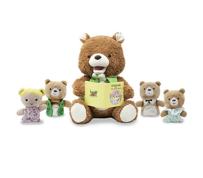 Cuddle Barn Bradford the Storytelling Bear