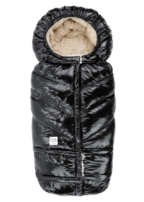 7 AM 7 A.M. Enfant Evolution 212 Blanket In Black Polar- 6 Months -4 Toddler
