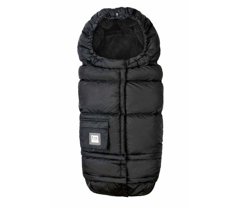 7 A.M. Enfant Evolution 212 Blanket In Black Plush- 6 Months -4 Toddler