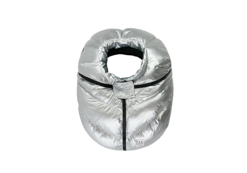 7 AM 7 A.M. Car Seat Cover - Cocoon In Glacier 0-12 Months