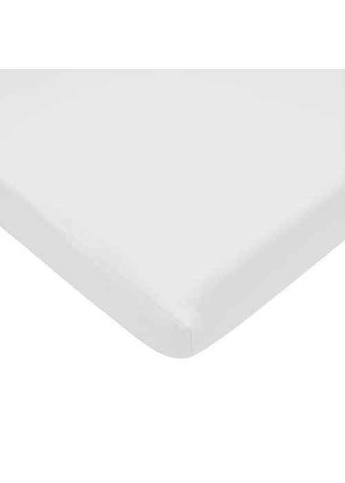 American Baby American Baby Knit Bassinet Sheet In White